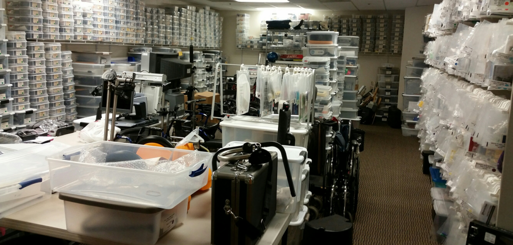 AzTAP Equipment Room