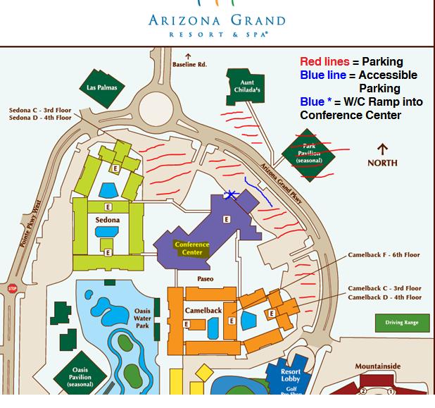 Arizona Grand Resort Map Quotes