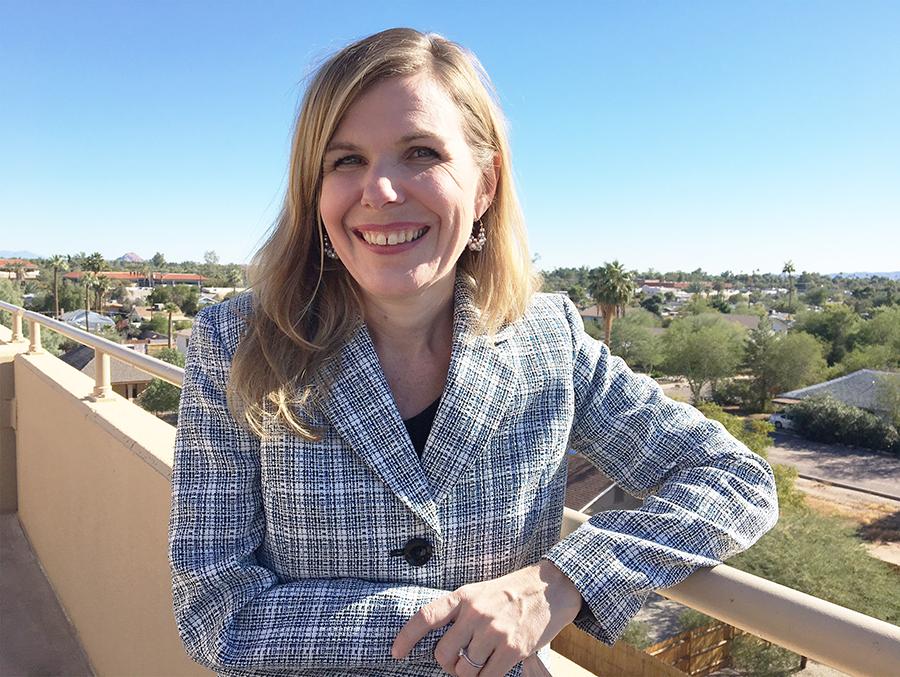 Photo of Dr. Erica McFadden